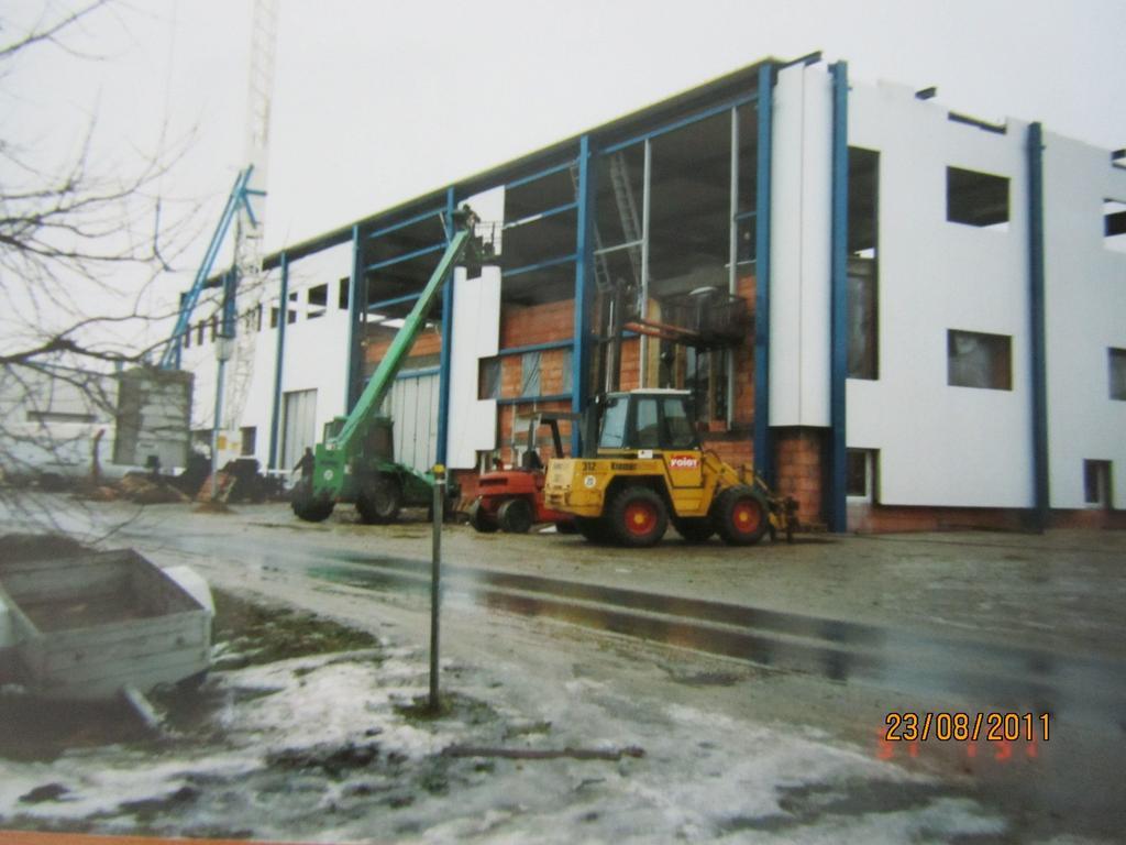 Neubau Buerogebaeudekomplex 1997