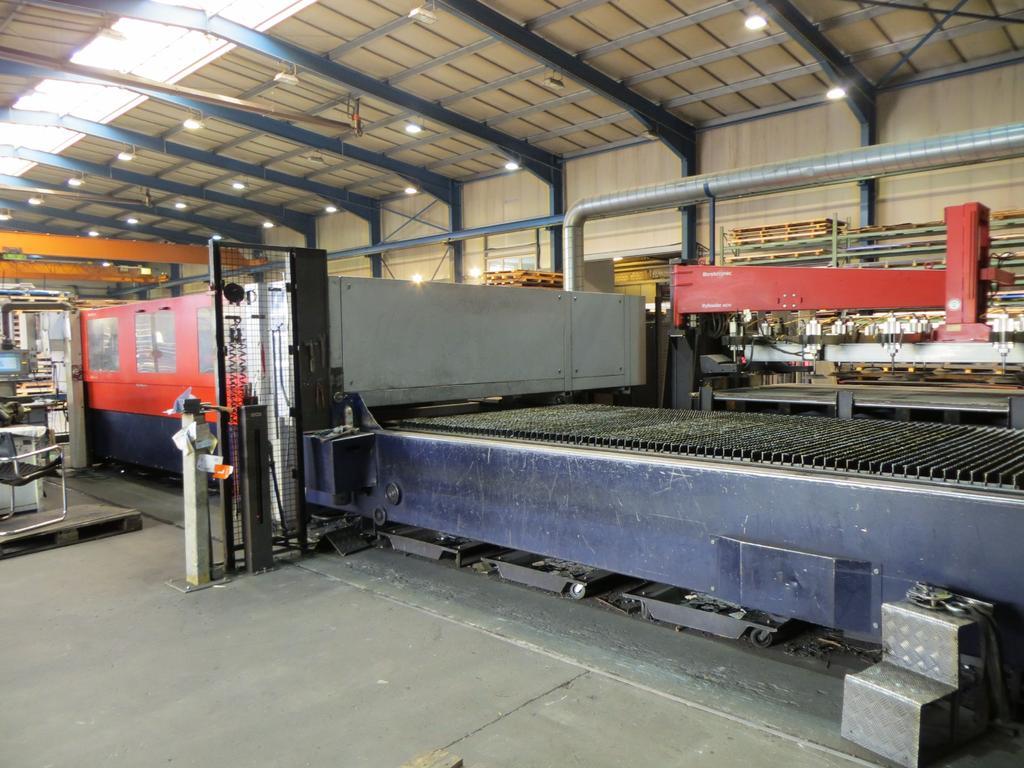 CNC Laserschneidanlage Bystronic Bystar 4020