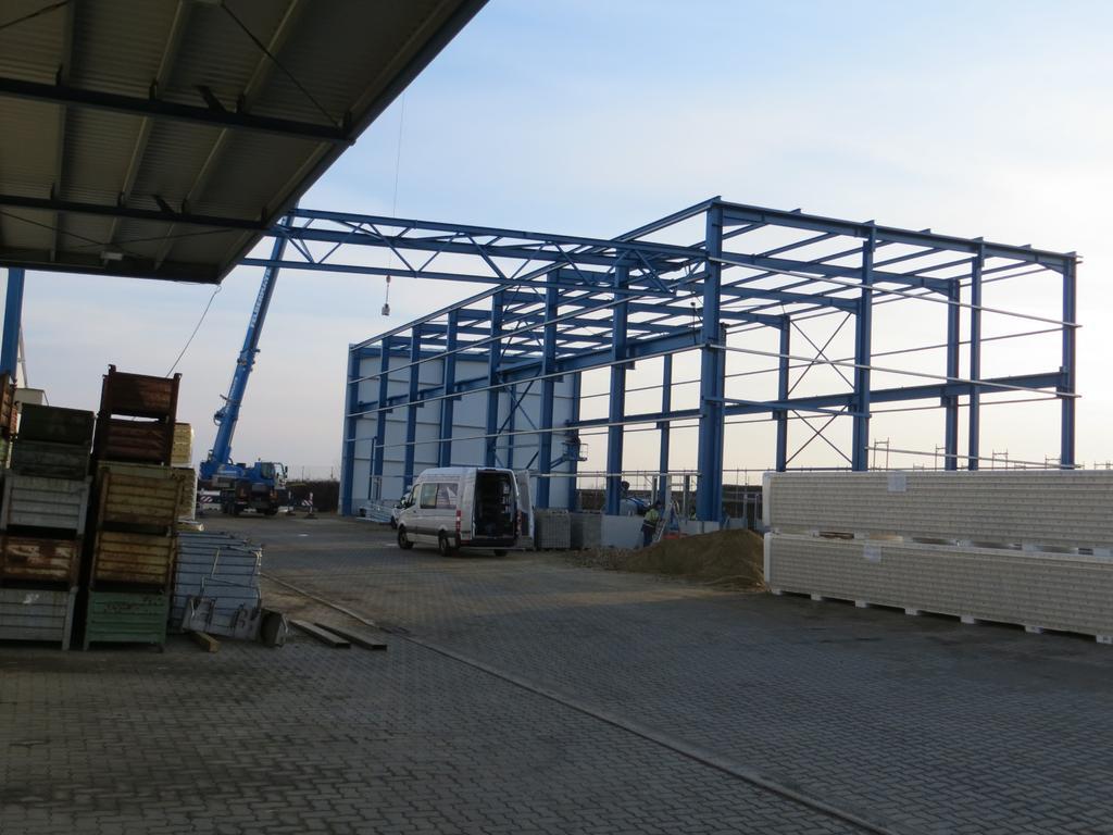 Neubau Montagehalle 2012/2013