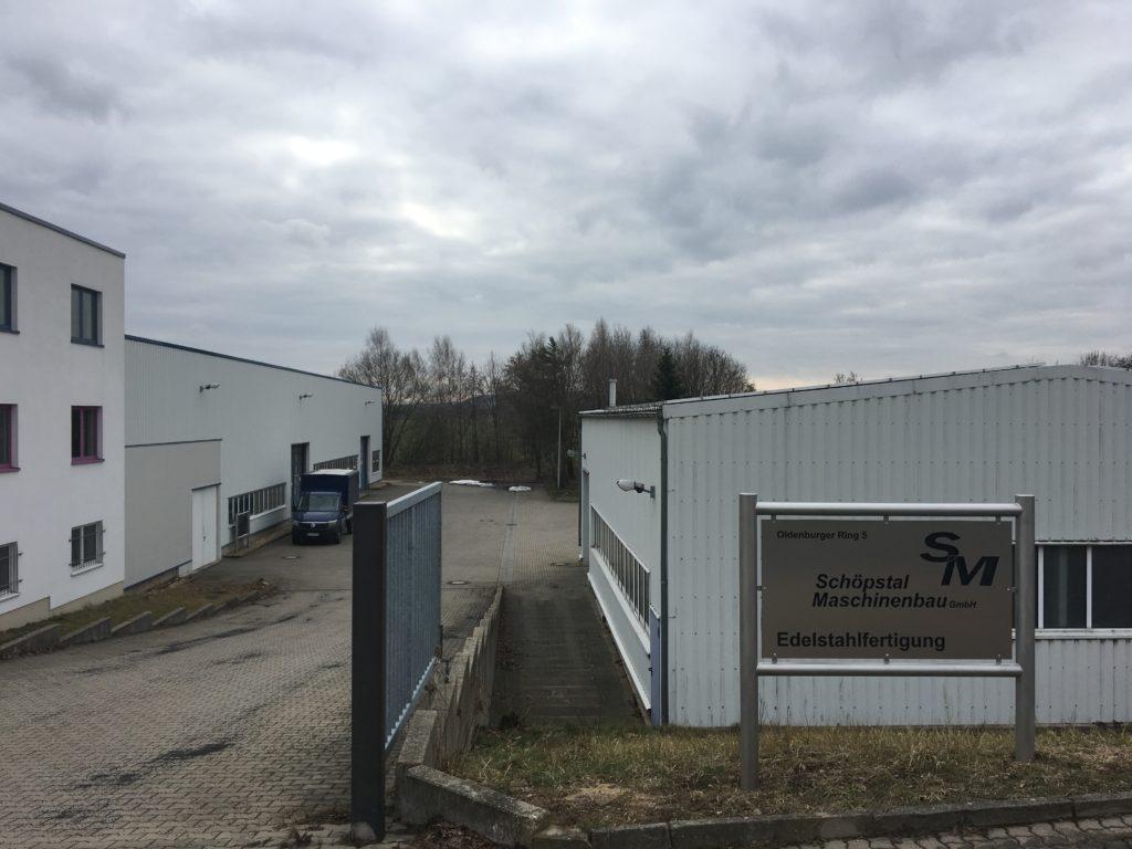 Separater Produktionsstandort Edelstahlfertigung